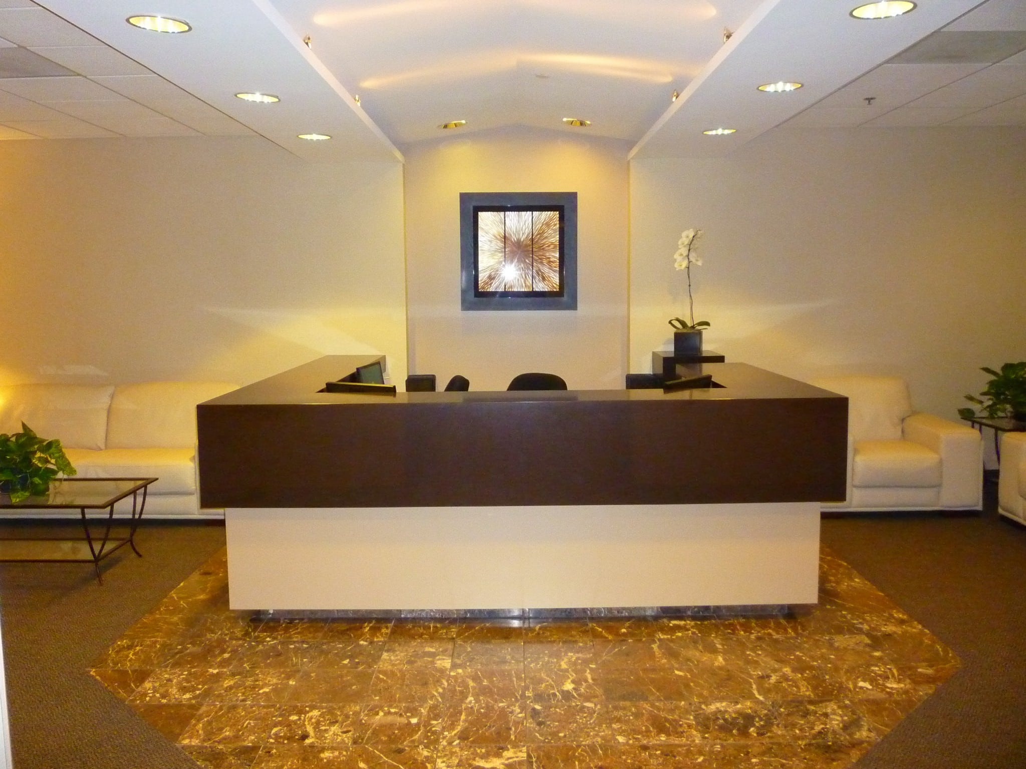 San diego office space barrister suites for Bureau reception