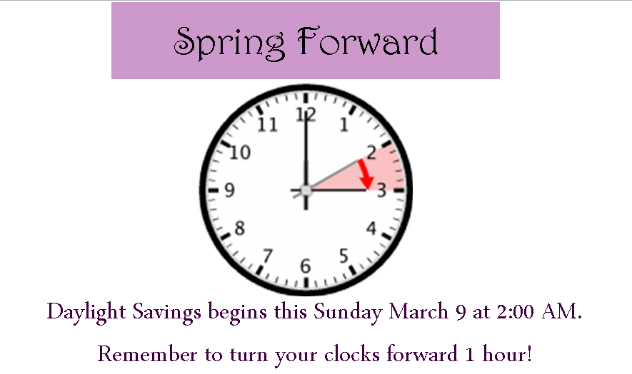 daylight savings 2014